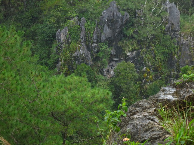 Echo Valley Hanging Coffins, Sagada