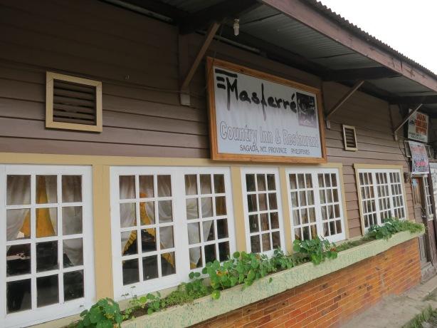 Masferre Restaurant in Sagada
