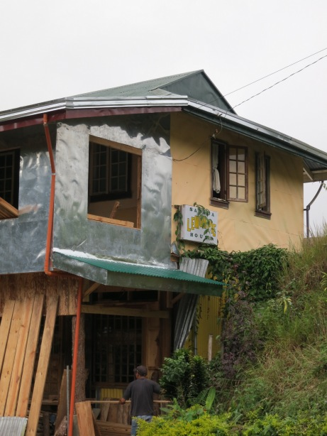 Lemon Pie House in Sagada Under Construction