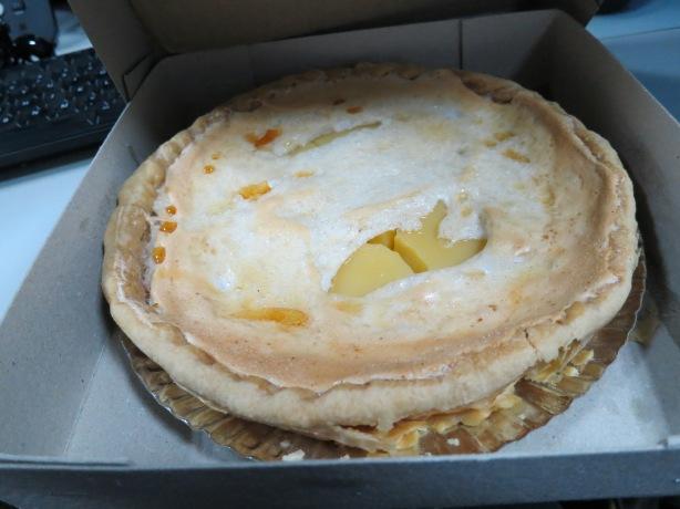 Lemon Pie Survives the Journey