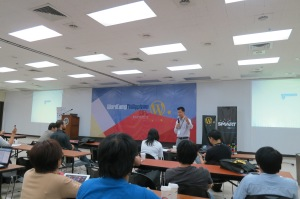 Manuel L Quezon III, Wordcamp Keynote Speaker