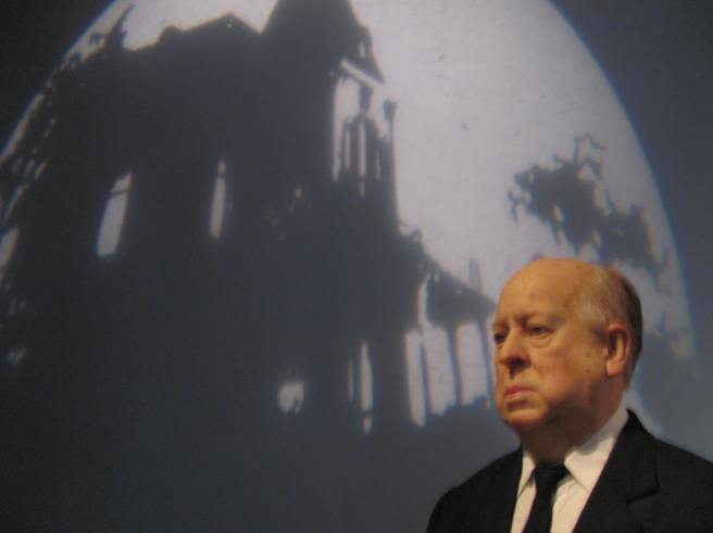 Alfred Hitchcock at Madame Tussaud's